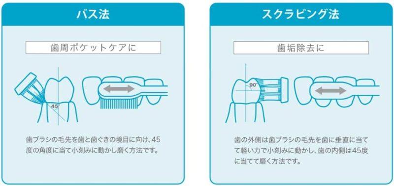 「バス法」・「スクラビング法」