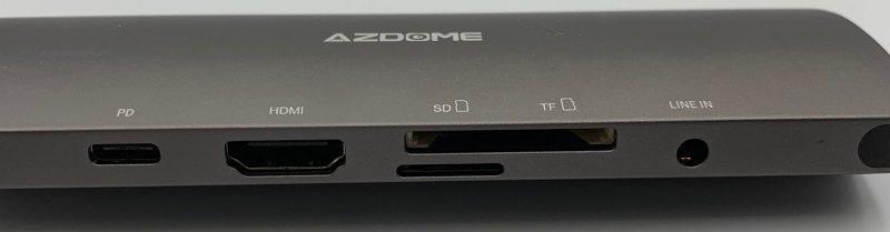 USB3.0以外はこちら面