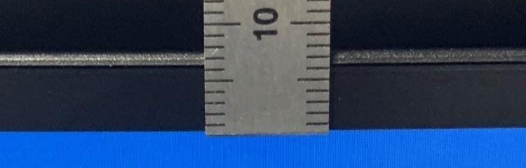 上も約7mm