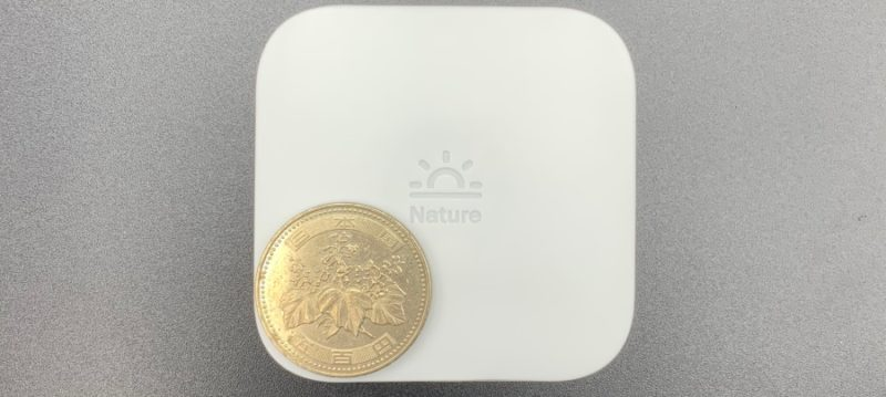 Nature Remo mini は小さい!