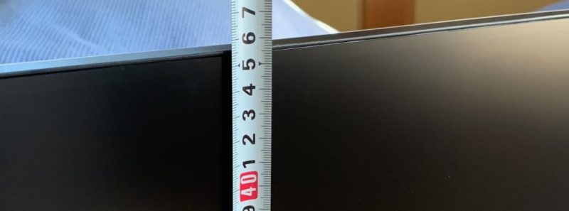 上部までの高さは約46cm