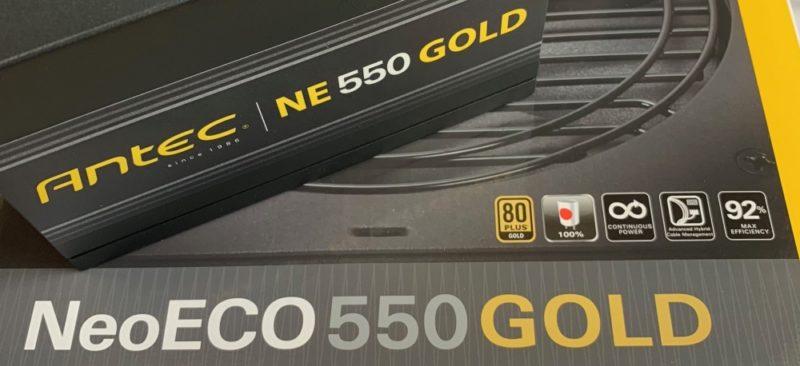 Antec「NeoECO550 GOLD」