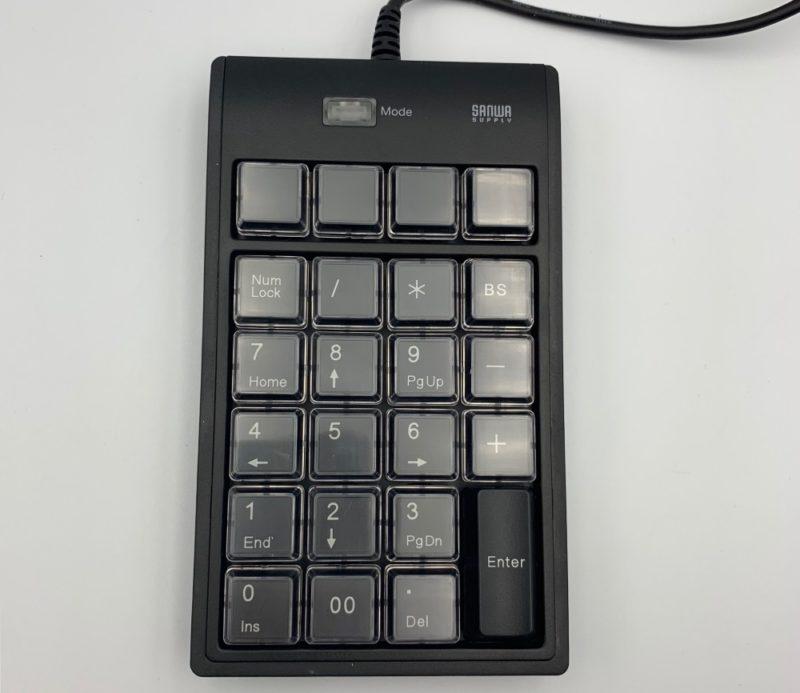 サンワサプライ プログラマブルテンキー NT-19UH2BKN
