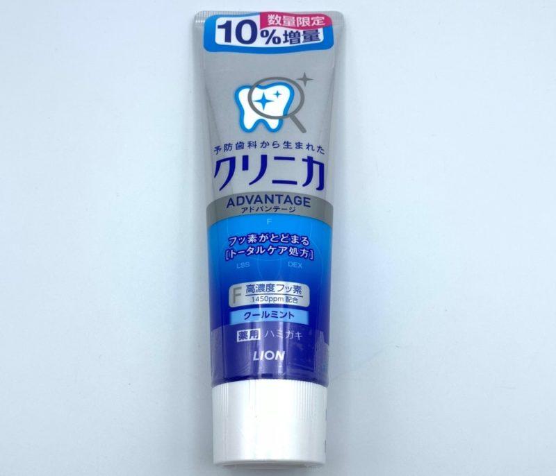 電動歯ブラシに使ってはいけない歯磨き粉 クリニカ アドバンテージ