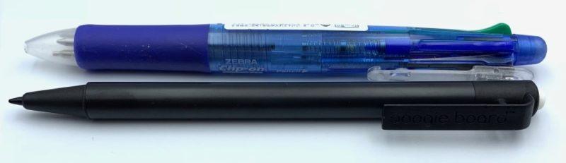 普通のペンくらいの大きさ