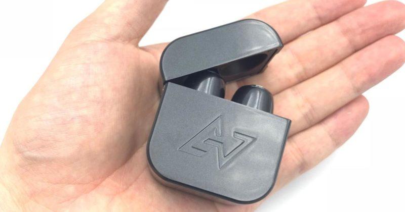 AVIOT TE-d01gは手のひらサイズ