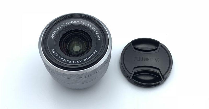 付属のレンズは「XC15-45mmF3.5-5.6 OIS PZ」です