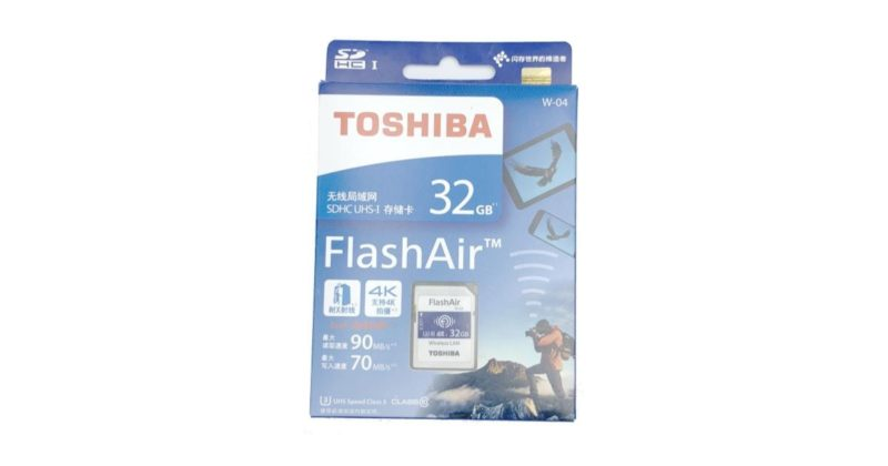 FlashAir W-04 並行輸入品
