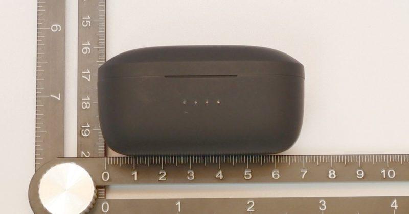 NUARL NT110の充電ケースの大きさ