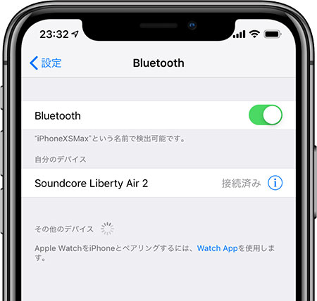 Soundcore Liberty Air 2が追加されればOK