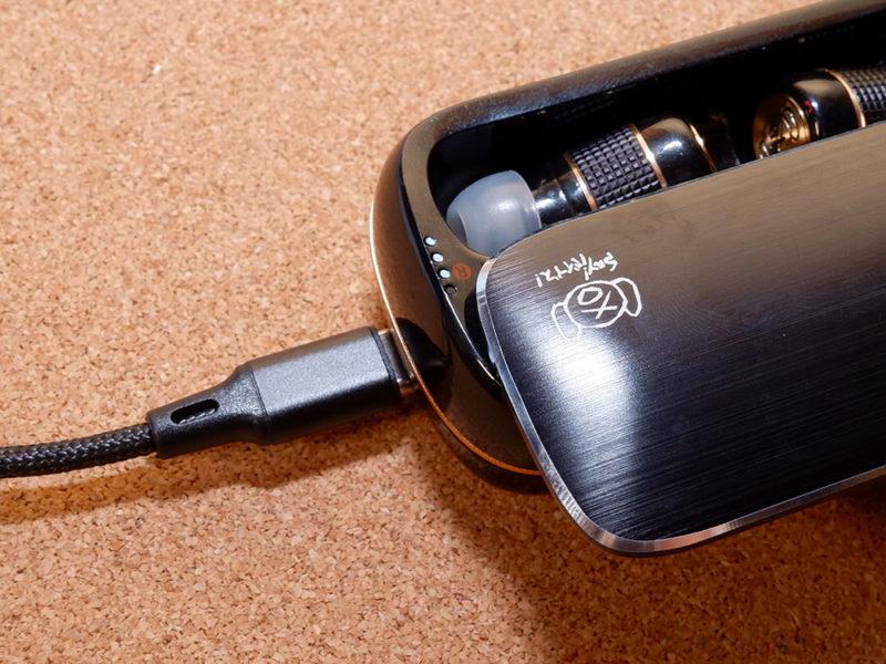 AVIOT TE-BD21f-pnkの充電について