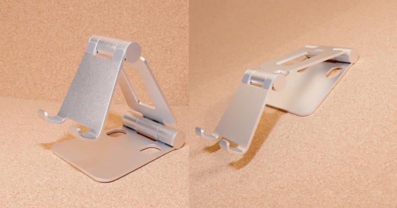 【自由自在!】スマホ/タブレットの角度調整がしやすいスタンド【サンワサプライ200-STN036】