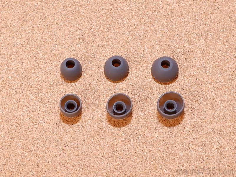 ドームタイプも「S / M / L」の3種類あります。