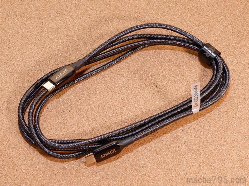 USB-Cケーブル「Anker PoweLine+ III USB-C & USB-C 2.0 ケーブル」を買ってみました。