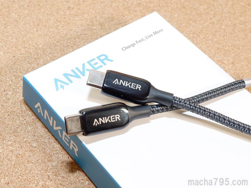 Anker PoweLine+ III USB-C & USB-C 2.0 ケーブルの主な特長