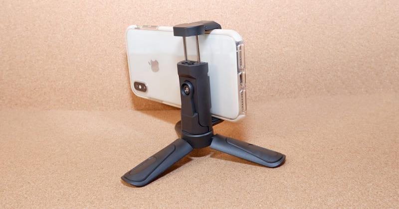 【ミニ 三脚】スマホ撮影に便利な軽量三脚「200-DGCAM018」サンワサプライ