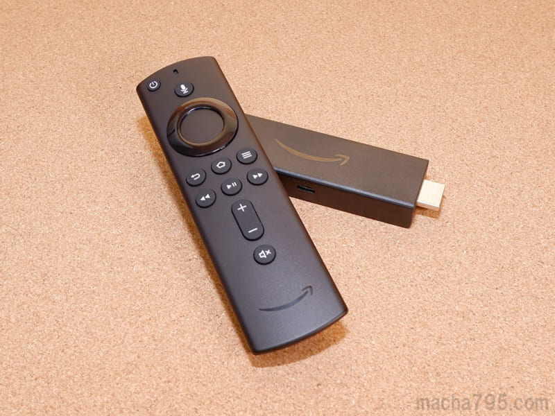 Fire TV Stick 4Kだと快適に観れる。