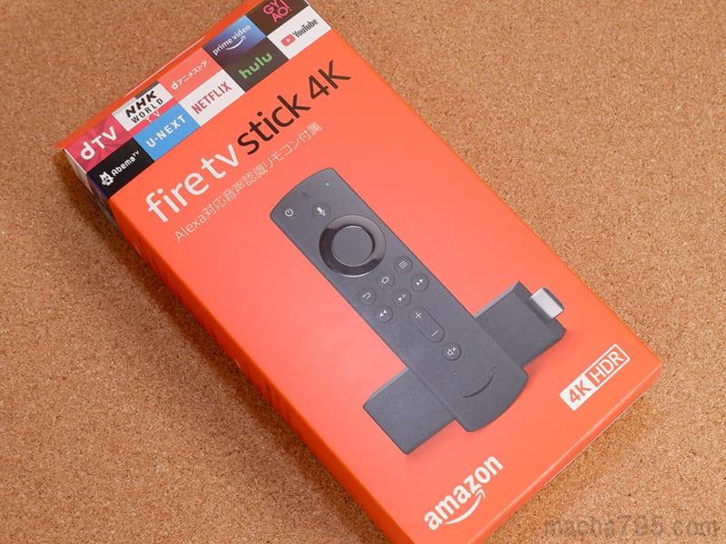 Fire TV Stick 4Kの対応コンテンツ