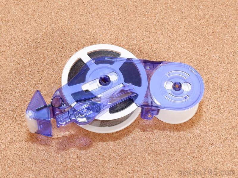 つめ替えるテープには、コア部分やローラー部分などが含まれています。