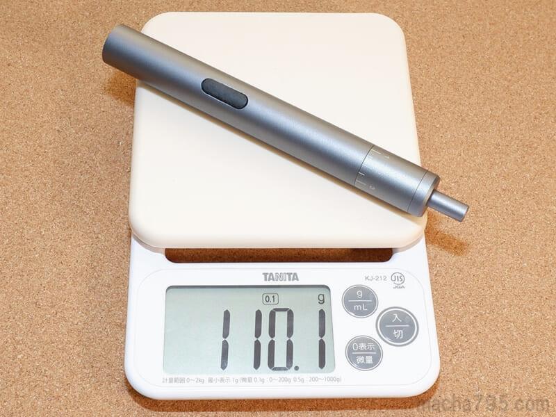 サンワサプライ 800-TK045の重さは約110g