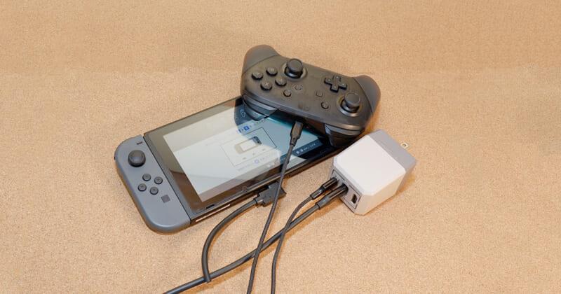 scorel Nintendo Switch ドック2in1レビュー
