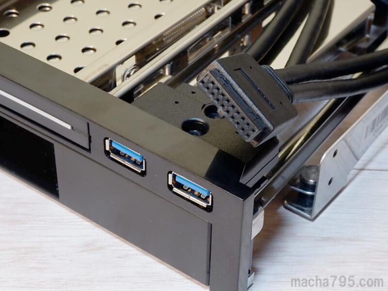 USB3.0ポーツが2つ拡張できます