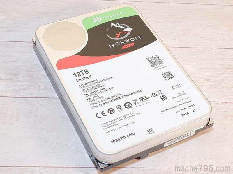 大容量モデルのHDD