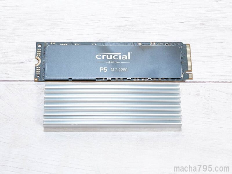 Crucial CT2000P5SSD8の速度と温度