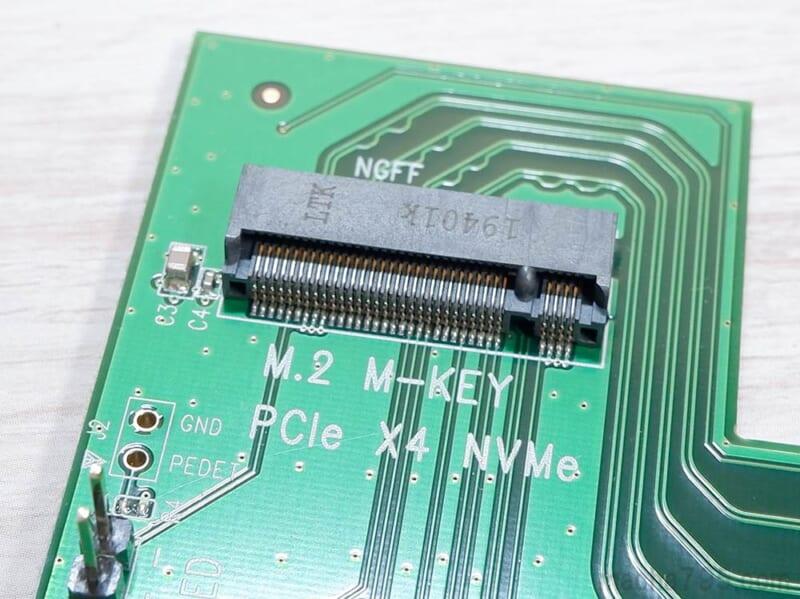 切り欠きが1つのM-Keyに対応しています