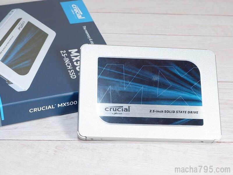 Crucial MX500 の外観