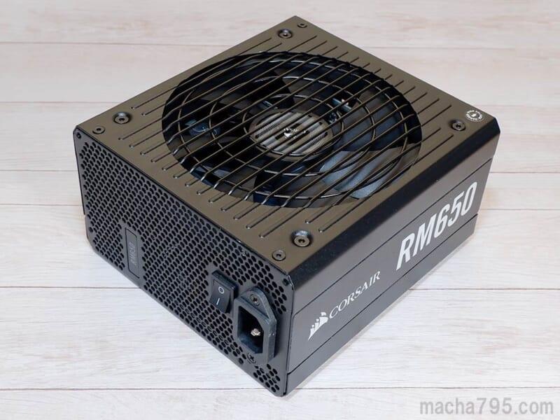 80 PLUS Gold 認証の650W電源ユニット