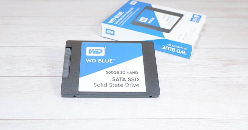 WD Blue SSD レビュー