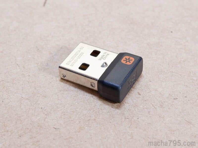 USB接続のUnifyingレシーバー