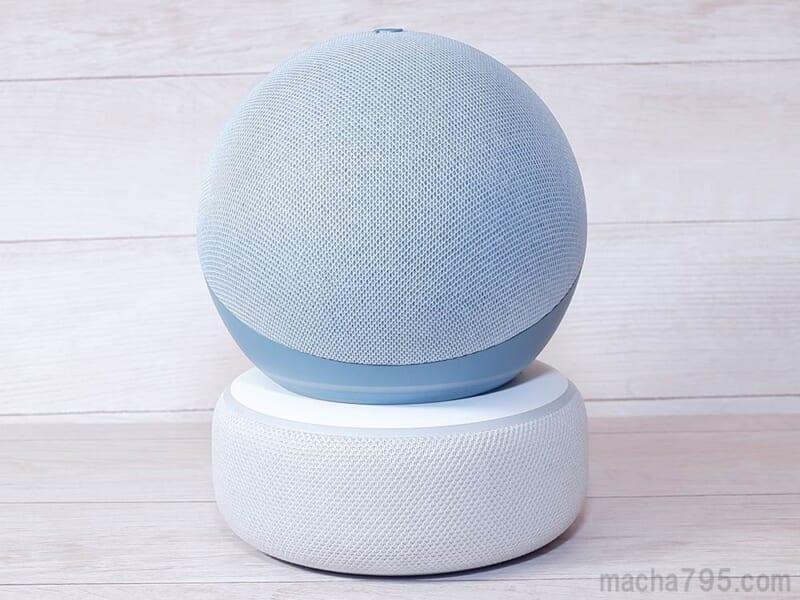 第3世代と第4世代Echo Dotを比較
