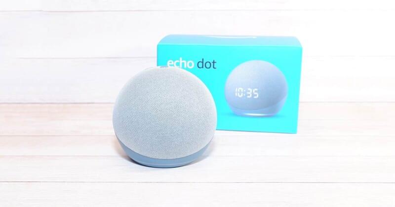 Amazon Echo Dot 第4世代をレビュー