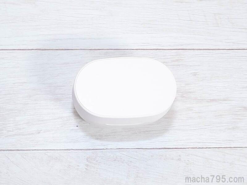指紋が目立たないプラスチック製